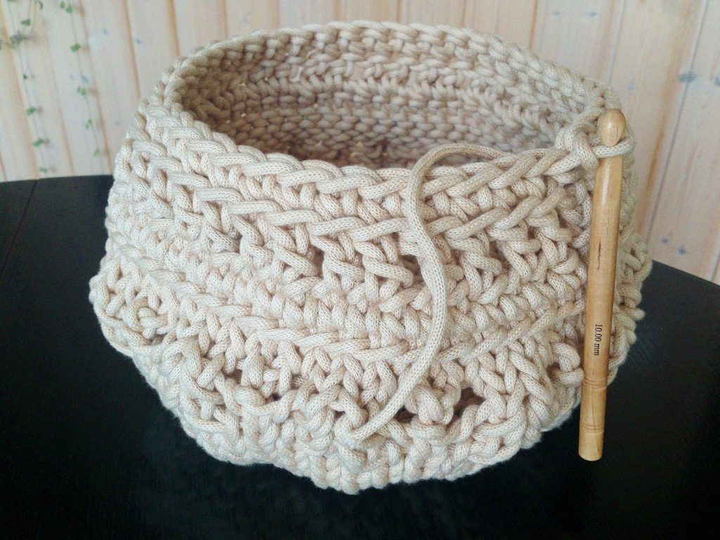 Textilgarn grob verSTRÄKELT ! | Inspirationen | ansalia\'s Welt