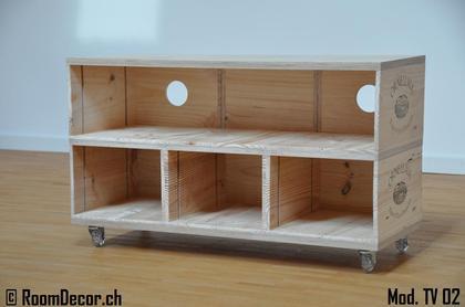 tv m bel aus weinkisten mod tv 02. Black Bedroom Furniture Sets. Home Design Ideas