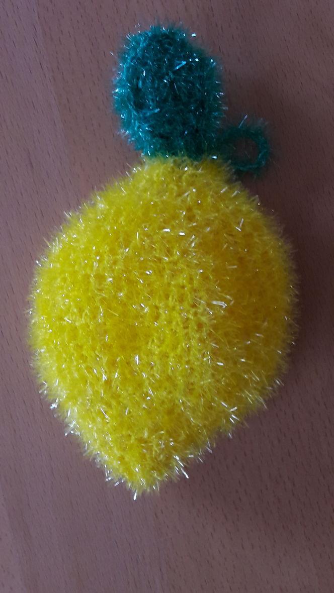 Spülschwamm Zitrone