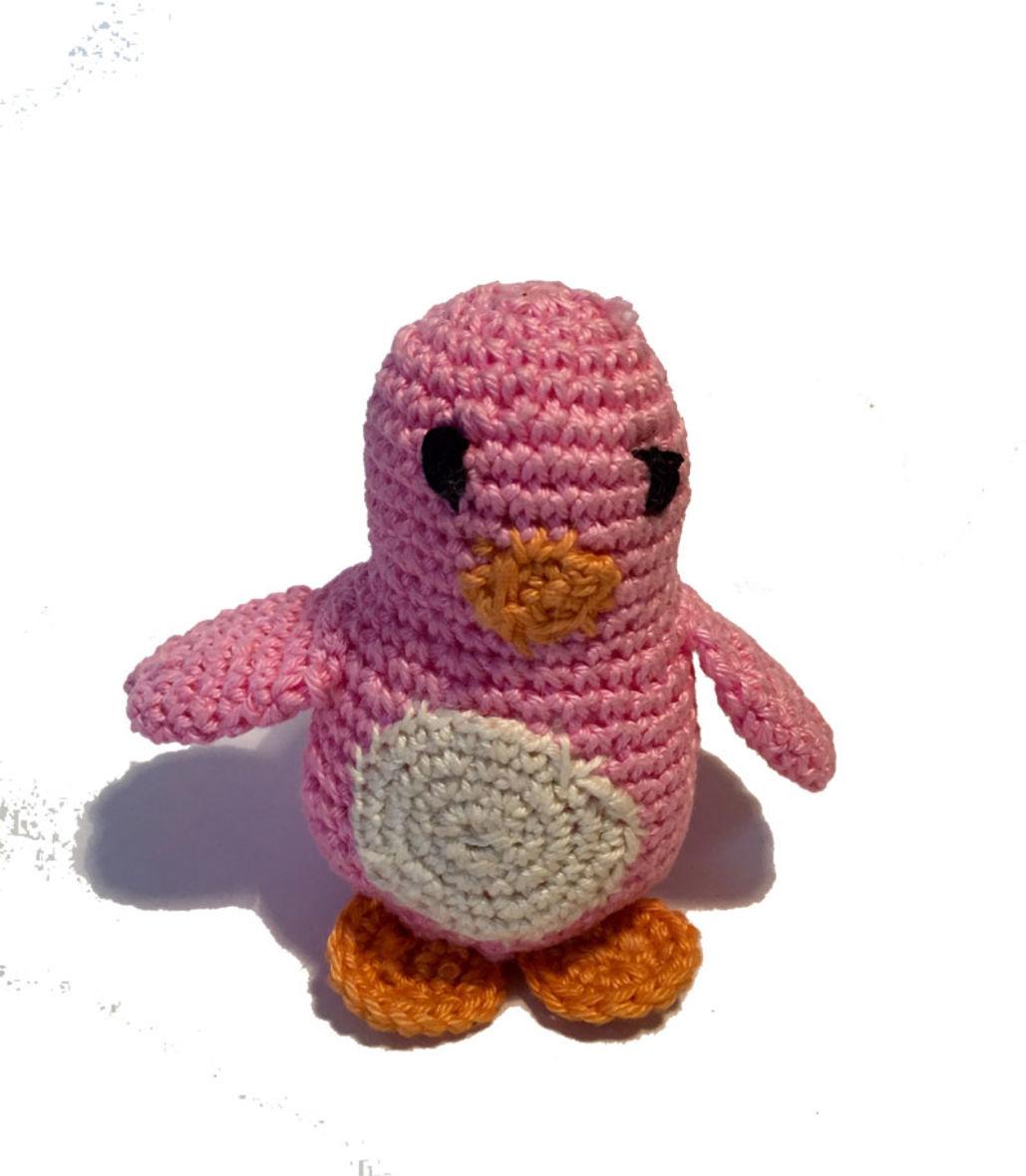 Amigurumi Häkelanleitung Pinguin