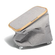 Box Multi Canvas & Bamboo mit Rollen, grau