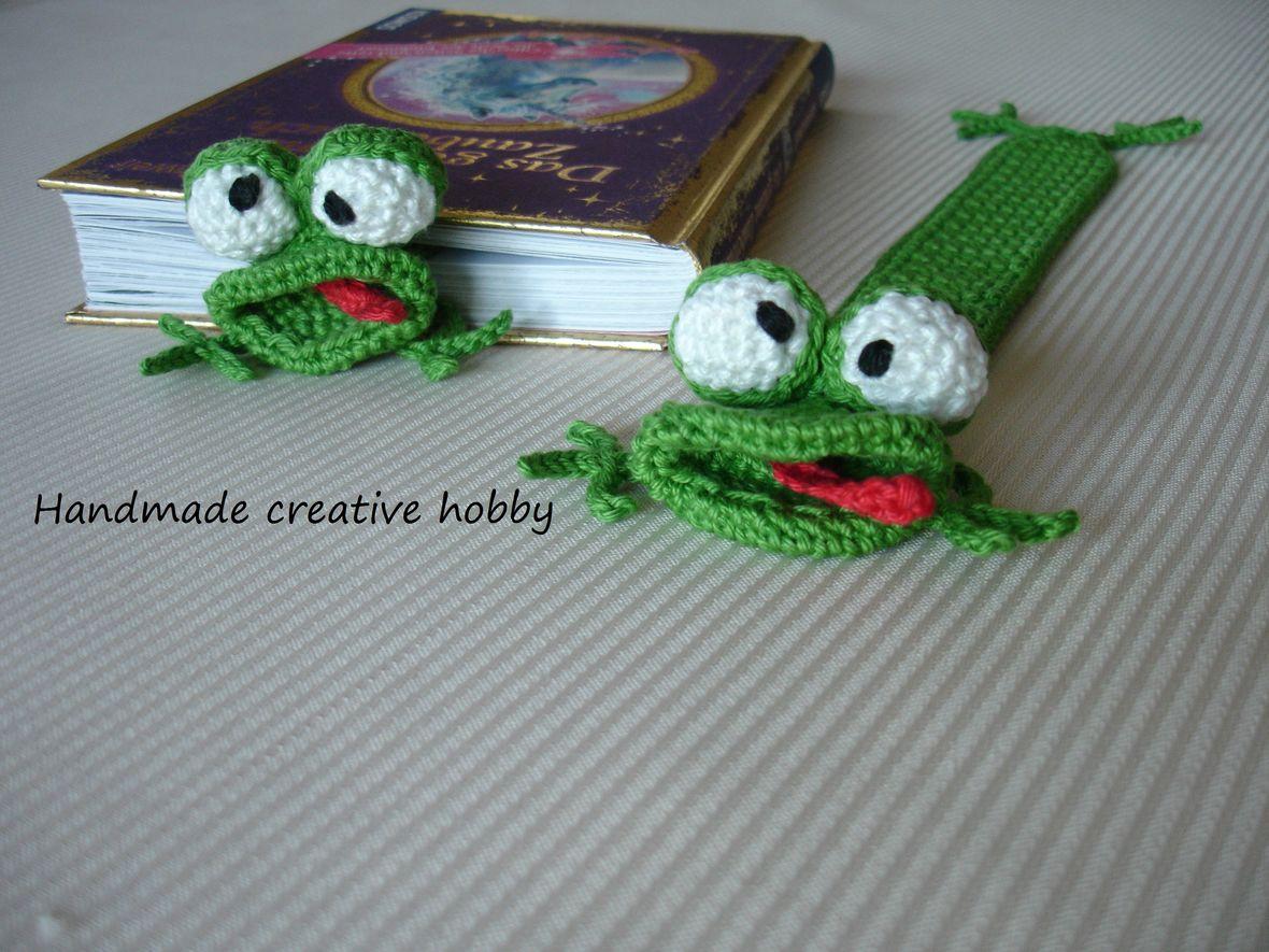 Lesezeichen Frosch