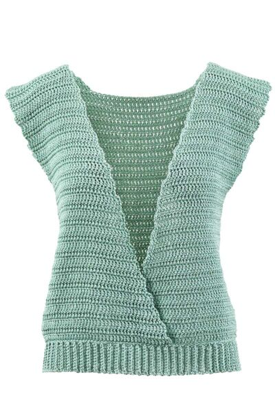 Strickanleitung Crocheted top