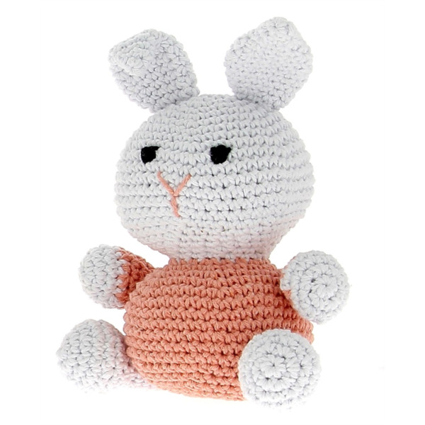 DIY Bunny Nila Eco Barbante, Lotus-Apricot