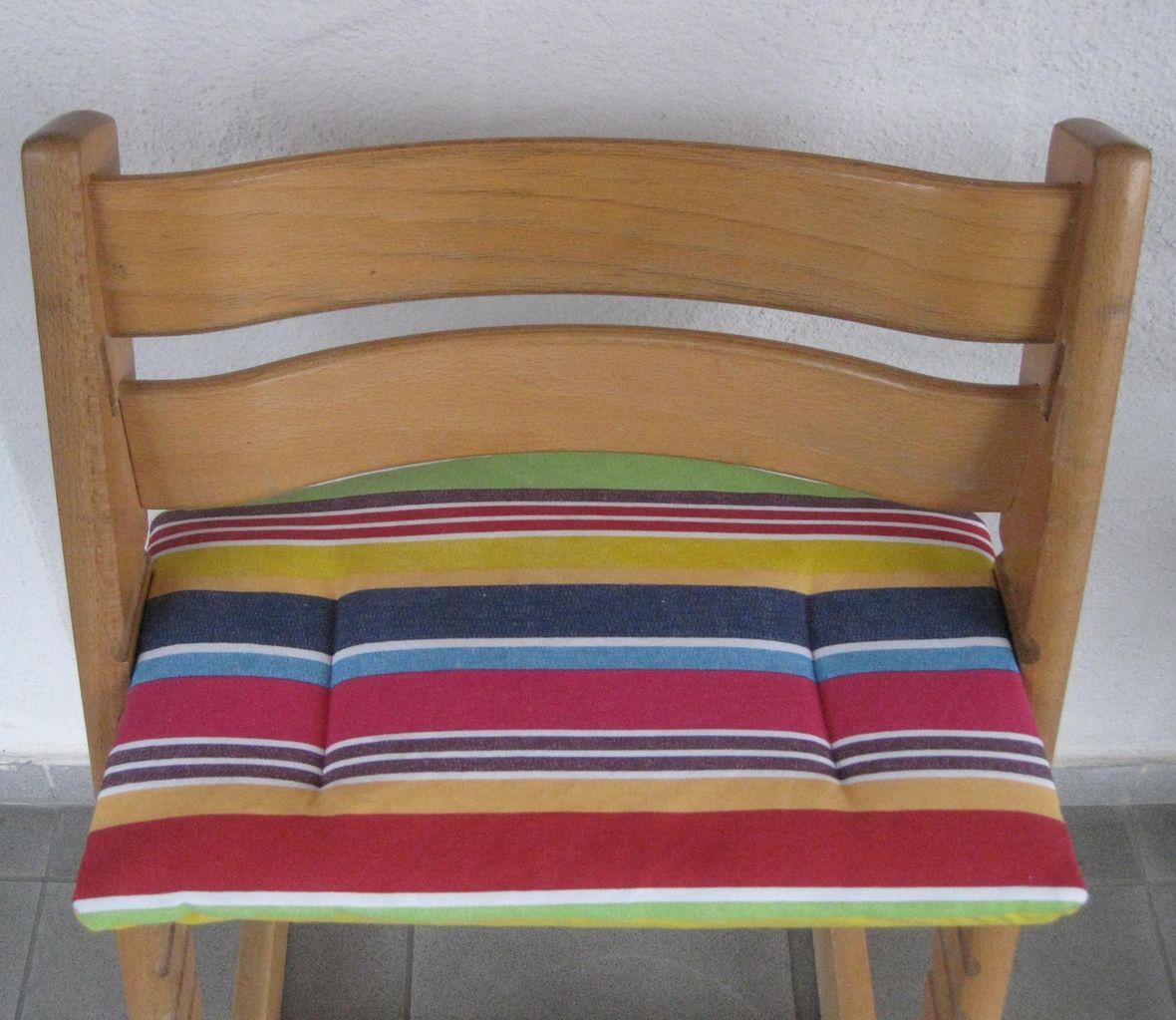sitzkissen sitzpolster sitzbezug f r tripp trapp stokke hauck leander treppy. Black Bedroom Furniture Sets. Home Design Ideas