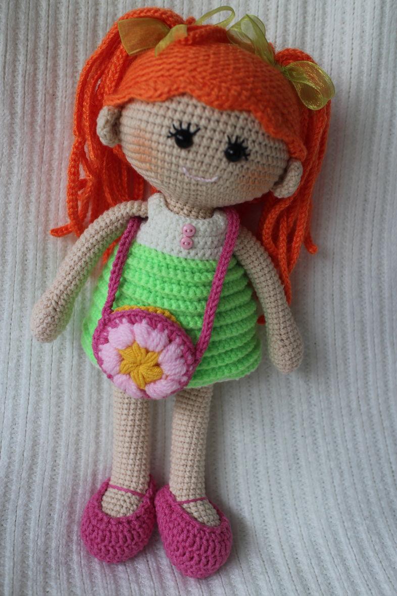 Puppe Gehäkelte Puppe