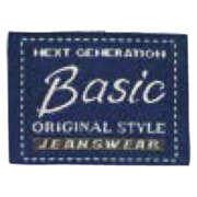 Applikation, Label, Basic jeanswear