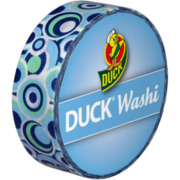 Duck Tape WASHI Bänder Rolle, Retro Blue