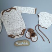 BABY Set in braun beige