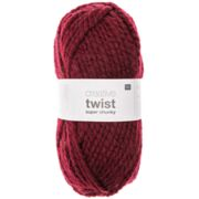 Creative Twist Super Chunky, bordeaux