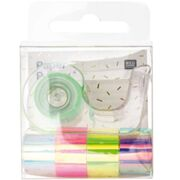 Mini Mirror Tape - Set, Regenbogen