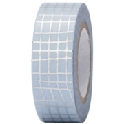 Tape Glitter silber, Hot Foil