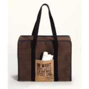 All-in-one Tasche Hand-printed Canvas L