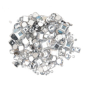 Strass Kreise/Quadrate Mix Tra