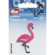 Applikation Flamingo, pink