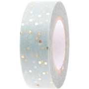 Tape, Punkte, mint-gold, christiliche Feste