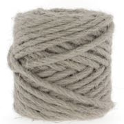 Hooked Medium Natural Jute Grey Mist