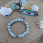 "Perlenarmband ""Shell in the Ocean"""