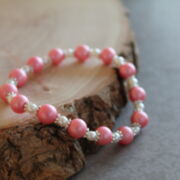 "Armband ""Pretty in Pink"""