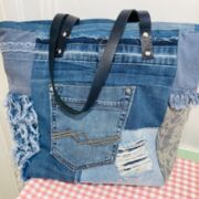 Jeans Tasche upcycling