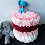 Kinder Hocker  Pouf