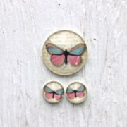 "Cabochon-Set ""Butterfly"""