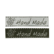 "Mono-Quick Label ""Hand Made"", 2 Stk."