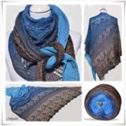 Strickanleitung Lace Shawl Canneto