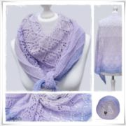 Strickanleitung Laceshawl Endless Summer