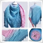 Strickanleitung Laceshawl Mermaid