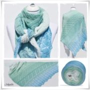 Strickanleitung Laceshawl Sea Breeze