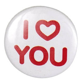 "Button ""I Love You"""