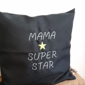 Kissenhülle Mama Superstar