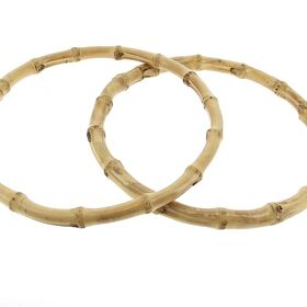Bamboo Ring Taschengriffe XL Honey