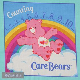Stoffbilderbuch selber nähen / Care Bears Counting