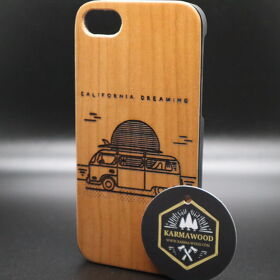 iPhone Case aus Holz - Cali Dreaming