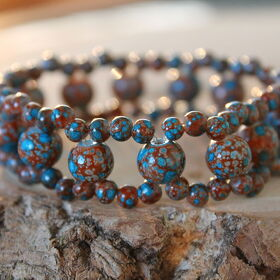 "Armband ""Crackle Fire"""