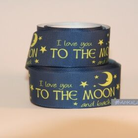1m Webband Nr.117 TO THE MOON