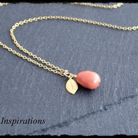 Coral - Kette in Gold