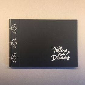 "DIY Notizbuch DIN A5 ""Follow your Dreams"""