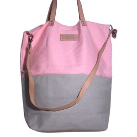 "Canvas Tasche ""Mezza"" rose/ grau"
