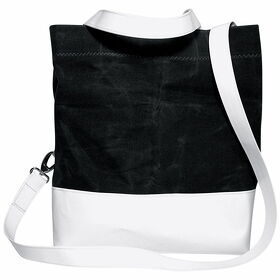 "Tote Bag Canvas gewachst Zeno"" anthrazit"