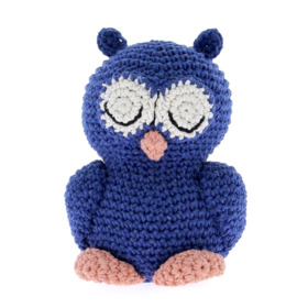 DIY Sleepy Owl Eddy Eco Barbante, Marine