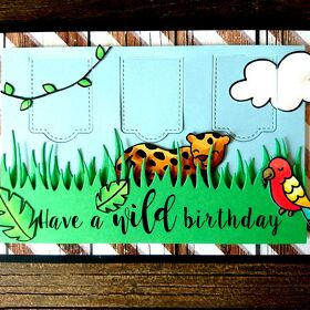 "Karte Safari ""have a wild birthday"""