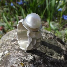 Ring Perle Silber 925