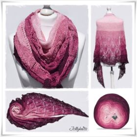Strickanleitung Laceshawl Fall in Love