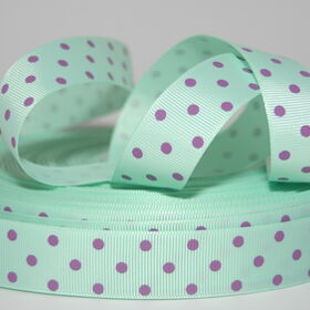 "★ Ripsband ""dot-mint"""