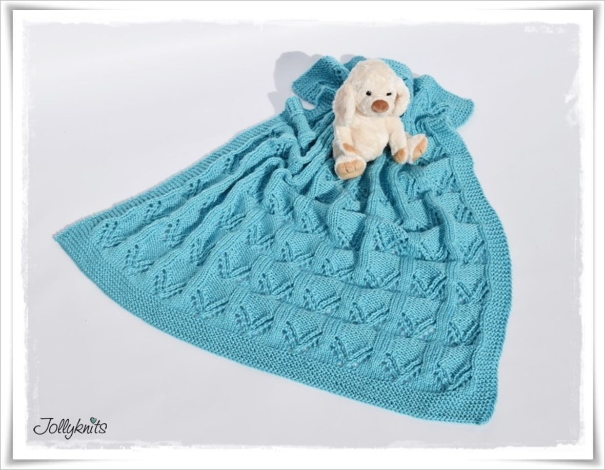 Magnificent Strickmuster Babydecke Picture Collection - Decke ...